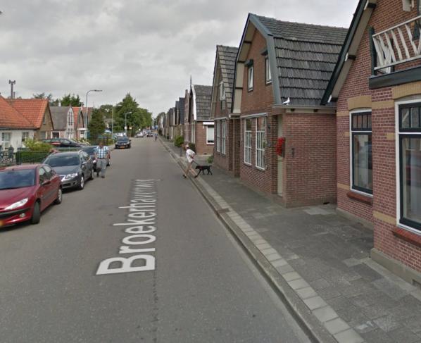 Lantaarnpalen Broekerhavenweg