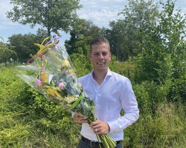 VVD-Lijsttrekker Joey Leeuwinga